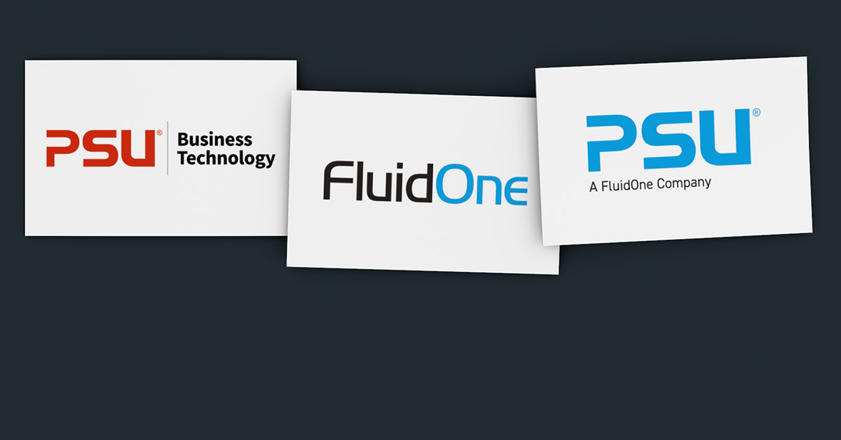 Efficient rebranding of website & collateral from PSU to FluidOne.