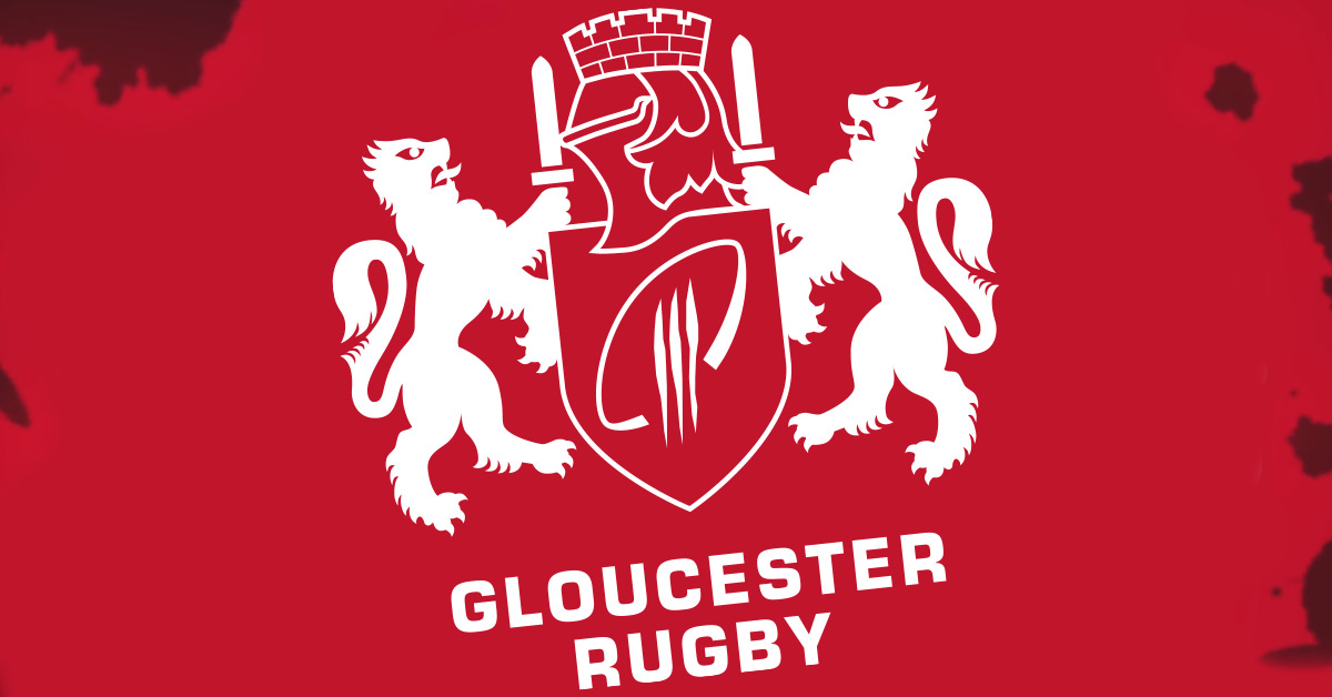 Gloucester Rugby Club sponsorship - promoting PSU's brand for the stadium's big screen and LED panels.